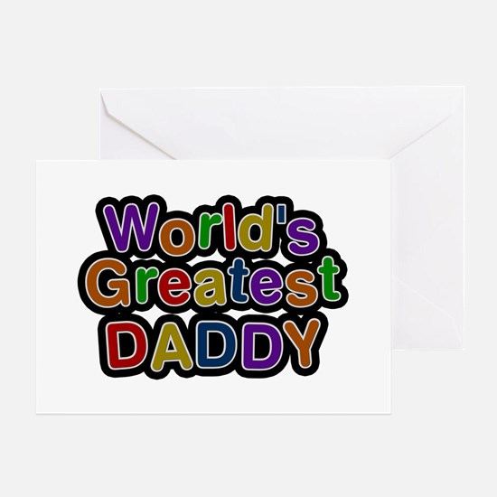 World's Greatest Daddy Greeting Card