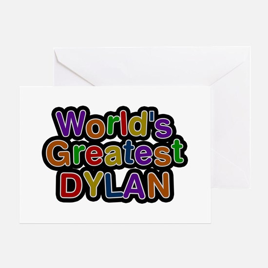 World's Greatest Dylan Greeting Card