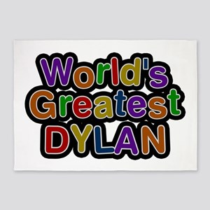 World's Greatest Dylan 5'x7' Area Rug