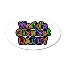World's Greatest Daddy Wall Decal