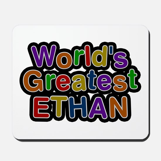 World's Greatest Ethan Mousepad