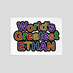 World's Greatest Ethan 5'x7' Area Rug