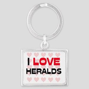 HERALDS105 Landscape Keychain