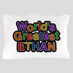 World's Greatest Ethan Pillow Case