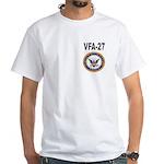 VFA-27 White T-Shirt