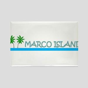 Marco Island, Florida Rectangle Magnet