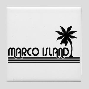Marco Island, Florida Tile Coaster