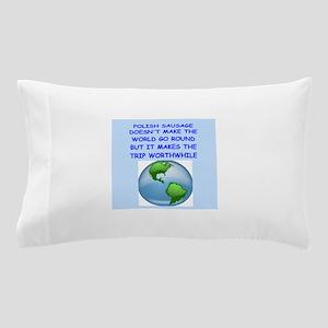 polish sausage Pillow Case
