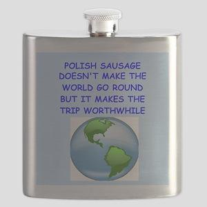 polish sausage Flask