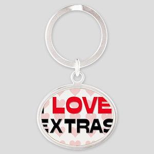 EXTRAS149 Oval Keychain