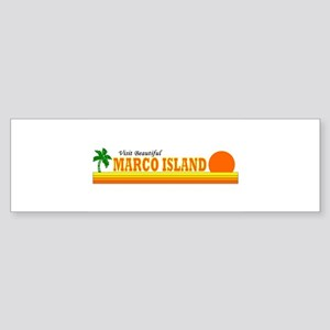 Visit Beautiful Marco Island, Bumper Sticker