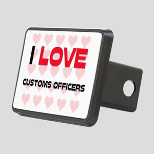 CUSTOMS-OFFICERS13 Rectangular Hitch Cover
