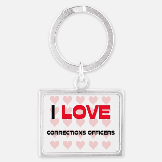 CORRECTIONS-OFFICERS49 Landscape Keychain