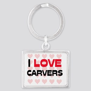 CARVERS88 Landscape Keychain