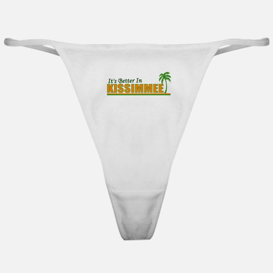 It's Better in Kissimmee, Flo Classic Thong