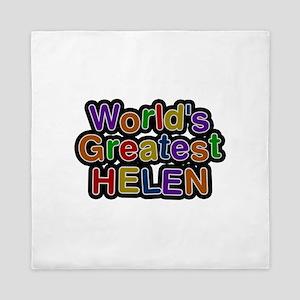 World's Greatest Helen Queen Duvet