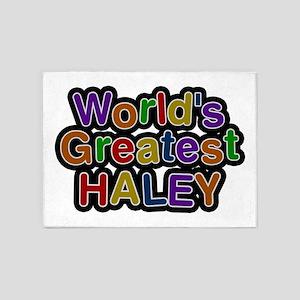 World's Greatest Haley 5'x7' Area Rug
