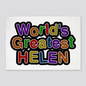 World's Greatest Helen 5'x7' Area Rug