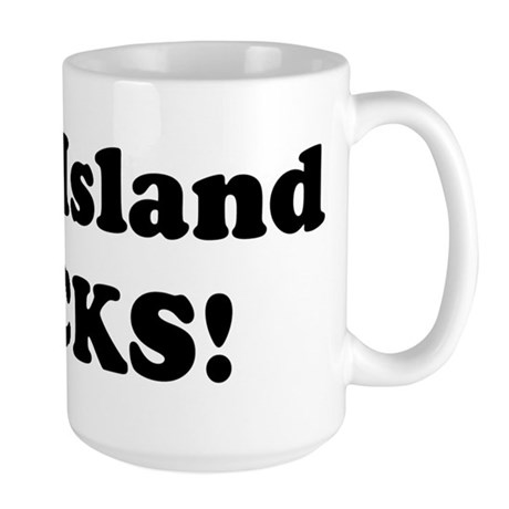 Long Island Rocks! Large Mug