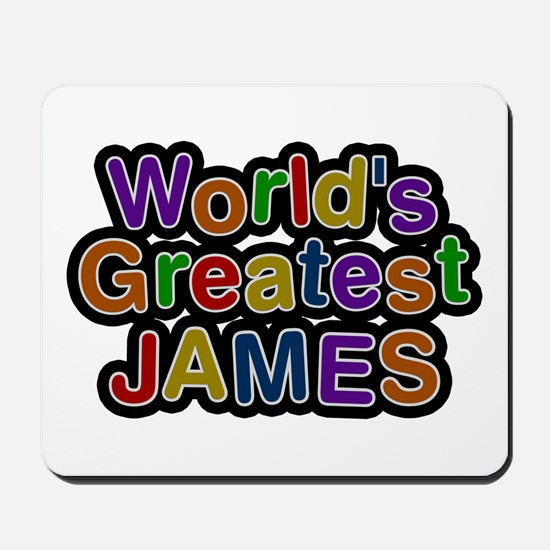 World's Greatest James Mousepad