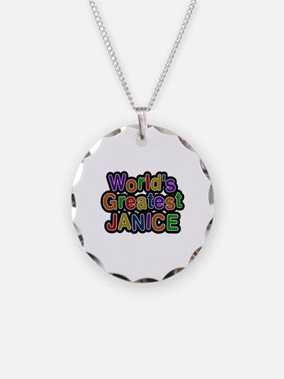 World's Greatest Janice Necklace
