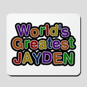 World's Greatest Jayden Mousepad