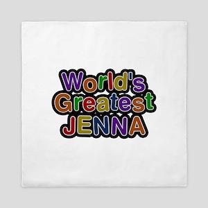 World's Greatest Jenna Queen Duvet