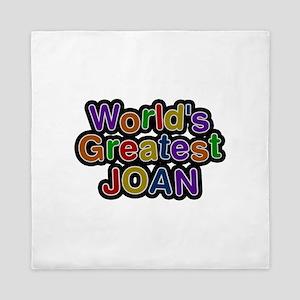 World's Greatest Joan Queen Duvet