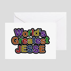 World's Greatest Jesse Greeting Card