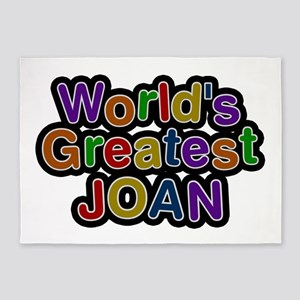 World's Greatest Joan 5'x7' Area Rug