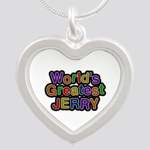 World's Greatest Jerry Silver Heart Necklace