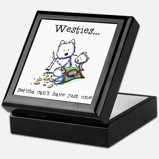 Westies Addict Keepsake Box