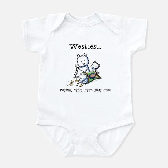Westies Addict Infant Bodysuit