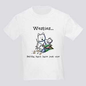 Westies Addict Kids T-Shirt