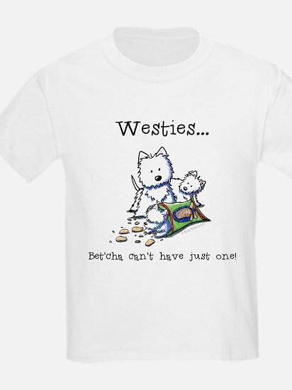 Westies Addict Kids T-Shirt