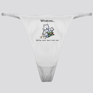 Westies Addict Classic Thong