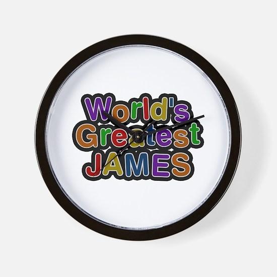 World's Greatest James Wall Clock