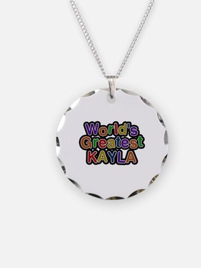 World's Greatest Kayla Necklace