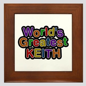 World's Greatest Keith Framed Tile