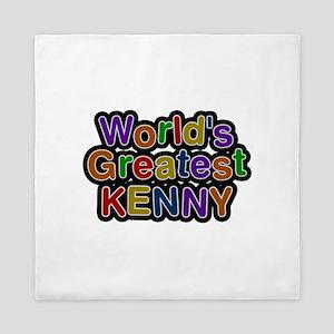 World's Greatest Kenny Queen Duvet