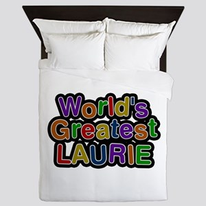 World's Greatest Laurie Queen Duvet