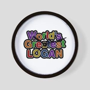 World's Greatest Logan Wall Clock