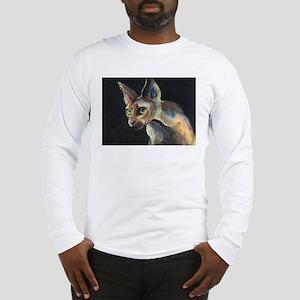 Sphynx cat 19  Long Sleeve T-Shirt