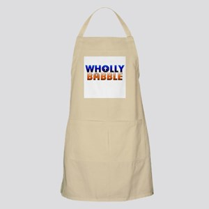 Wholly Babble BBQ Apron
