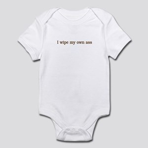 Asswipe Infant Bodysuit