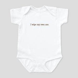 Asswipe Infant Bodysuit