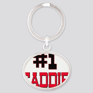 CADDIE61 Oval Keychain