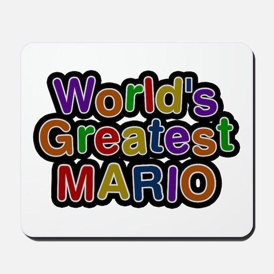 World's Greatest Mario Mousepad