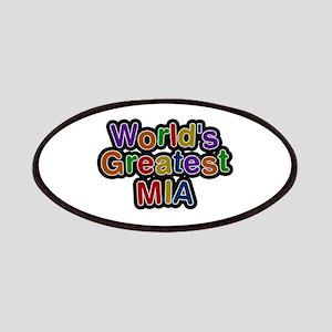 World's Greatest Mia Patch