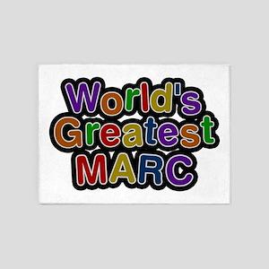 World's Greatest Marc 5'x7' Area Rug
